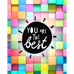 You are the Best (jpeg file) 8x10 inch